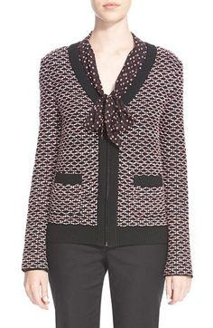 St.+John+Collection+Regatta+Knit+Jacket+available+at+#Nordstrom