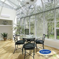Fresh Sunroom Heating and Cooling