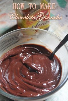 Chocolate Ganache is just so delicious when frosted over cakes or cupcakes.I have already shared a ganache recipe made using milk and . Milk Chocolate Ganache, Chocolate Mud Cake, Semi Sweet Chocolate Chips, Decadent Chocolate, How To Make Chocolate, Homemade Chocolate, Melting Chocolate, Chocolate Buttercream, Ganache Recipe With Milk