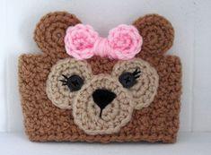 Items similar to Crochet ShellieMay Bear Inspired Teddy Bear Coffee Cup Cozy on Etsy Crochet Coffee Cozy, Coffee Cup Cozy, Crochet Cozy, Mug Cozy, Crochet Teddy, Crochet Bear, Cute Crochet, Crochet Motif, Crochet Crafts