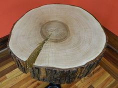 $339.95  - Reclaimed Maple Rustic Circle Cut Tree Log Slice Wood Stump Table 10420 T 6 18D 22  10420 ** Be sure to check out this awesome product. (This is an affiliate link) #BuildingSupplies