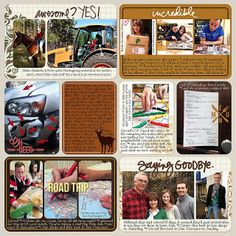 Project Life 2013 – Week 48 | Right Side