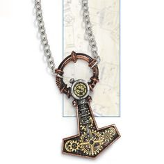 A Thor's hammer AND steampunk??  Double win!!