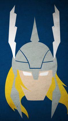 Thor;  iPhone Wallpaper.
