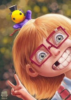 Cute Digital Art by Thiago Lehmann & Luiza McAllister | Cruzine