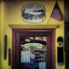 Habana Port Cigar Merchants, Baton Rouge, LA. ~ Abandon all despair, ye who enter here.~
