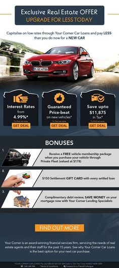 Your Car Loans - Marketing Email by Jasmin_VA Exclusive Real Estate, Facebook Cover Design, Car Loans, Marketing