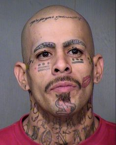 53 WTF Face Tattoos That Are a Sign Your Life Might Have Gone Wrong is part of Cute Tiny tattoos Summer - Cheezburger com Crafted from the finest Internets Bad Face Tattoos, Face Tattoos For Women, Facial Tattoos, Tatoo Fail, Epic Tattoo, Amazing Tattoos, Picture Tattoos, Tattoo Photos, Horrible Tattoos