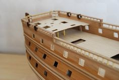 The Construction Of The San Felipe Ballustrading And Side Rails Model Ship Building, Model Ships, Construction, Architectural Models, Dollhouses, Architecture, Storage, Modeling, Father