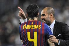 Cesc Fabregas speaks about the freedom playing under Pep Guardiola gave him (Video)