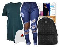 """""""School"""" by pinksemia ❤ liked on Polyvore featuring MCM and River Island"""