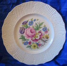 Pretty Floral Plate