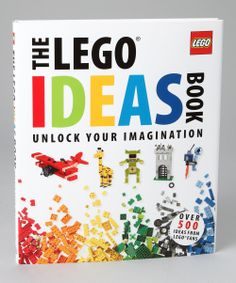 The #LEGO Ideas #Book Hardcover #Holiday #giftideas #kids #zulily #gifts | $14.99