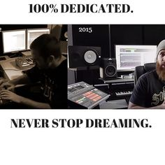 2012 vs 2015. I'm 100% dedicated. Ready for this 2016. This is my yeat I'm calling it now. Happy new year to all of you and thanks for following me. Let's make some great music this year the world really needs it.  #rapmusic #rapper #datpiff #newmusic #studioflow #studiolife #beatmaking #producer #trap #getreadyforthesewaves