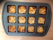 mini slimming world quiches made with tub of cottage cheese and 3 eggs then whatever you want to add. Great for packed lunches!