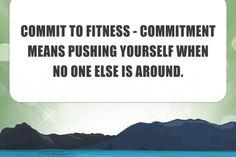 101FitnessTips – Commit