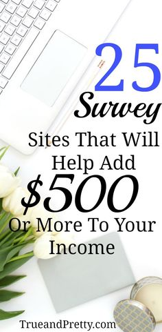 Everyone could use a little extra money in their pockets every month, right? What if I told you that you could supplement your income by taking surveys.