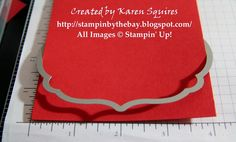 Framelits as a edge cut