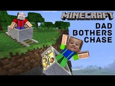 3 Yr Old Chase plays MINECRAFT PE & Dad Bothers Him... A Lot! Roller Coaster Push (FGTEEV Gameplay) - YouTube