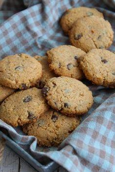 Cookies de farinha de coco e manteiga de amendoim