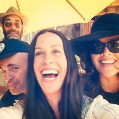 """Alanis Morissette - video shoot for """"big sur"""" Alanis Morissette, Ryan Reynolds, Big Sur, Famous People, Captain Hat, Female, Apple, Collection, Places"""