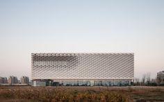 Nantong Urban Planning Museum by Henn Architekten in Jiangsu province, China