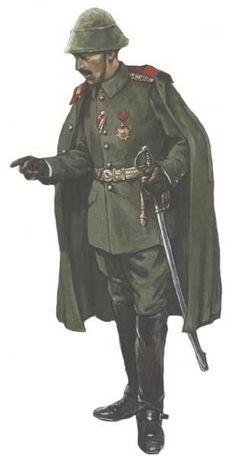 Ottoman Army, colonel XV° corps - pin by Paolo Marzioli