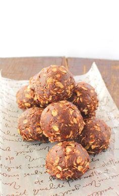 Fabsfood: Galletas sin horno de Nutella y mantequilla de cacahuete