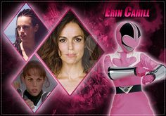 Erin Cahill (Pink Ranger) by AndieMasterson on DeviantArt Power Rangers Names, Power Rangers Time Force, Pink Power Rangers, Power Rangers Movie, Naruto Sage, Superhero Tv Shows, Power Rengers, Go Busters, Mighty Morphin Power Rangers
