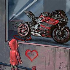 Moto Wallpapers, Dark Phone Wallpapers, Cute Cartoon Wallpapers, Image Moto, Motorcycle Humor, Friendship Photography, Motorcross Bike, Beast Wallpaper, Cute Doodle Art