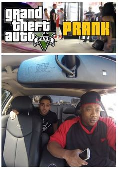 GTA Prank! Watch the ultimate in revenge. Do you think it went too far? #spon #prank #viral