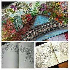 Jardim secreto/ Ramo Borboletas /Johanna Basford