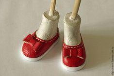 Как сшить кукольные балетки из кожзама на колодке - Ярмарка Мастеров - ручная работа, handmade