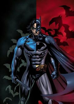 Nightwing is the younger batman