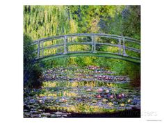 The Waterlily Pond with the Japanese Bridge, 1899 Giclee Print by Claude Monet at AllPosters.com