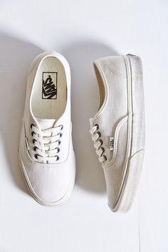 sale retailer 77777 a999c Vans Authentic Overwash Sneaker Veganistische Schoenen, Witte Busjes, Witte  Gympen, Schoenlaarzen, Schoenen