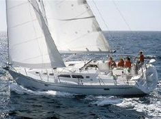 Catalina 400 40' sailboat. Another one I'm considering.