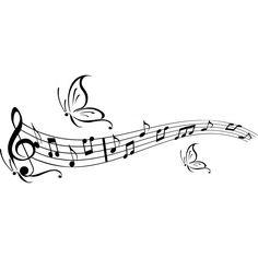 """Résultat de recherche d'images pour """"papillon musique"""""""