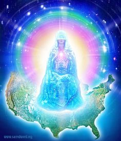Immaculata. The Great Silent Watcher for the Earth and her evolutions. Holds the Immaculate Concept of the Divine Plan of Perfection for humanity's progress on this Earth.