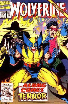 Wolverine Vol. 2 # 58 by Darick Robertson & Joe Rubinstein