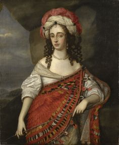 Mary, Princess of Orange (1631-1660) by Adriaen Hanneman (1604-71), 1655? Royal Collection Trust