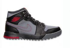 Air Jordan 1 Retro Trek Boot Cool Grey Black Gym Red Available Now