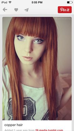 Gorgeous!! I want her hair!