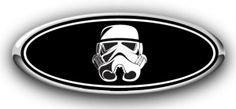Ford Storm Trooper Overlay Emblem Decal