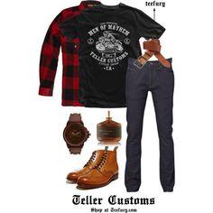 Teller Customs - (Men's) Buy it on TeeFury here: http://www.teefury.com/teller-customs/?utm_source=pinterest&utm_medium=referral&utm_content=tellercustoms&utm_campaign=galleryinfocus?&c3ch=Social&c3nid=Pinterest
