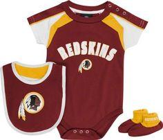 654da80c8 Washington Redskins Newborn Burgundy Team Creeper