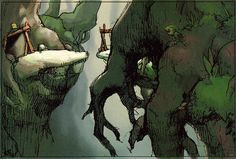 Zelda: The Wind Waker original drafts and concept art