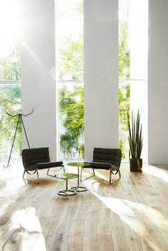 Oak floor tiles by Bolefloor #wood #interiors #light @Rain Teimann and Boleform