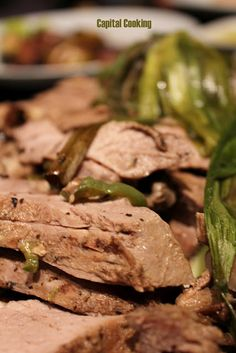 Roasted Honey Ginger Butterflied Leg of Lamb