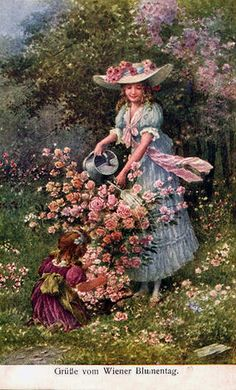 1 million+ Stunning Free Images to Use Anywhere Victorian Paintings, Victorian Art, Vintage Images, Vintage Art, Romantic Paintings, Victorian Pictures, Painting People, Old Art, Antique Art